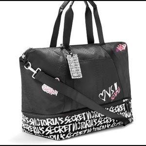 NWT Victoria's Secret Graffiti Weekend Bag